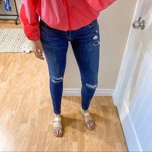 Silver Suki Skinny Mid Rise Jeans